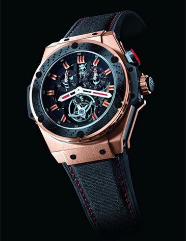 Hublot Replica King Power F1 Chrono Tourbillon For Sale