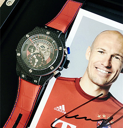 Replica Hublot Big Bang Bayern Munich limited edition watch